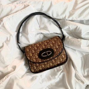 Dior Monogram Two Way Bag